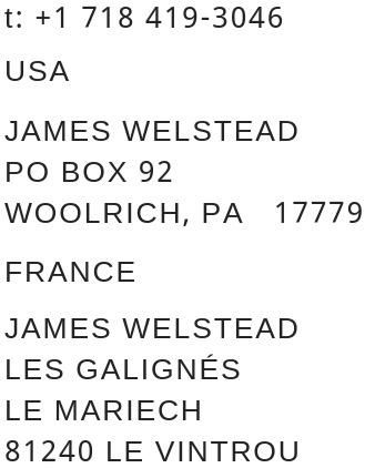 JAMES WELSTEAD